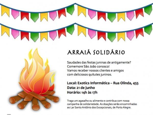 Participe Da Nossa Festa Junina!