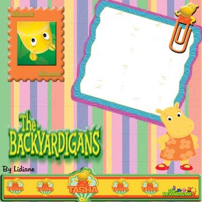 Convite Do Backyardigans Para Imprimir