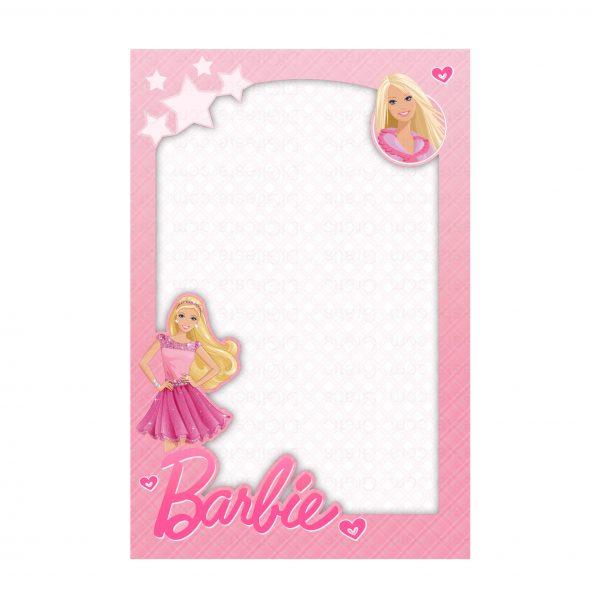 Convite Barbie Grátis Para Editar E Imprimir