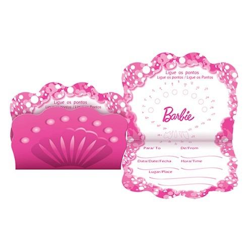 Convite Barbie Vida De Sereia 2