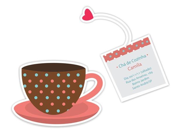 Lumidea Cria Convite Para Chá De Cozinha