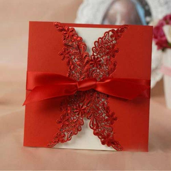Casar É… » Arquivos Convite De Casamento Vermelho  Vários Modelos