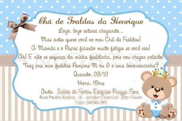 Frases Para Convite De Chá De Bebê
