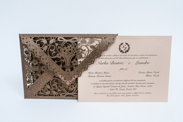Convite De Casamento Campo Grande Ref 345