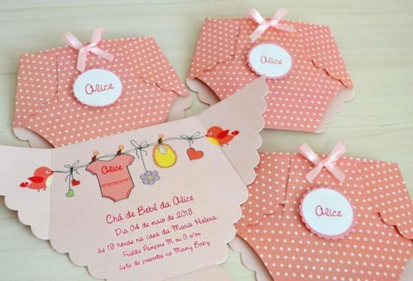 31 Convites De Chá De Bebê → Modelos Mais Lindos Para Imprimir