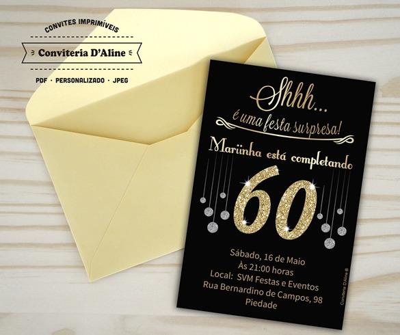 Convite Anos 60  30 Ideias Para Você Se Inspirar!