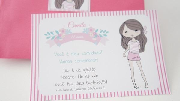 Convite De Aniversario De 11 Anos 7 » Happy Birthday World