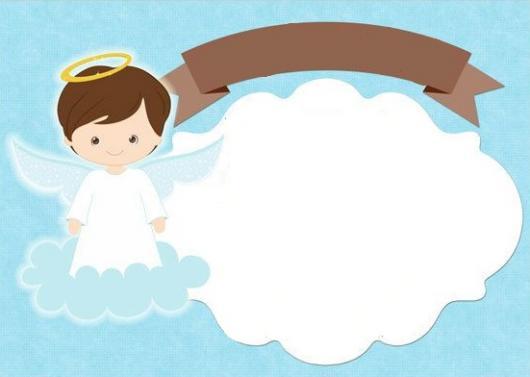 Convite De Batizado – 45 Modelos Fofíssimos Para Se Inspirar
