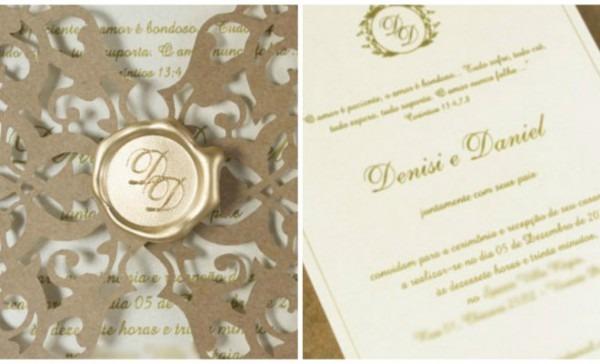 5 Ideias De Convites De Luxo Para Casamento