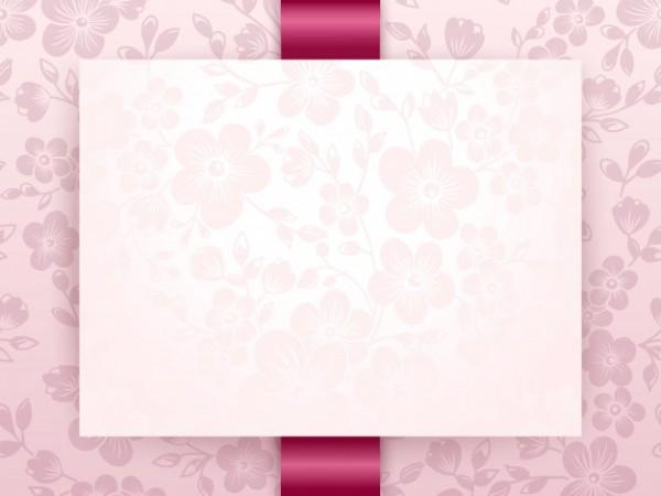 Convite De Casamento E Cartão De Anúncio Com Arte Finala De Fundo