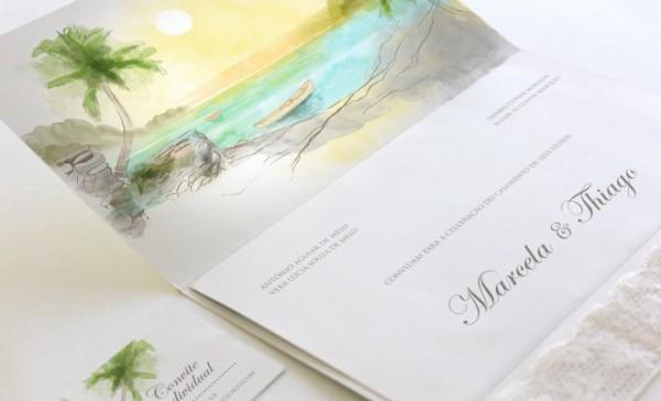 Convite De Casamento  Impressão, Custos E Benefícios