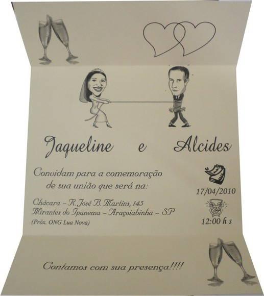 Convite De Casamento Pgd2310