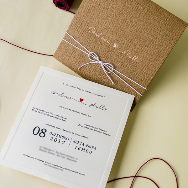 Convites Rústicos Para Casamentos No Campo