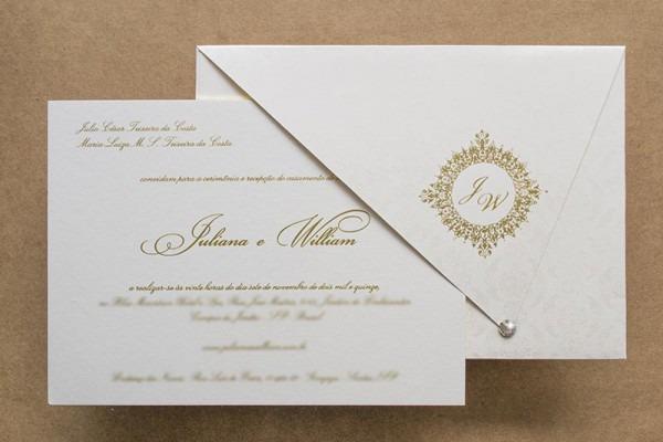 Convites De Casamento Tradicionais William
