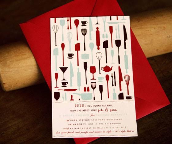 25 Convites Para Chá De Panela Ou Chá De Cozinha – Modelos De Convite