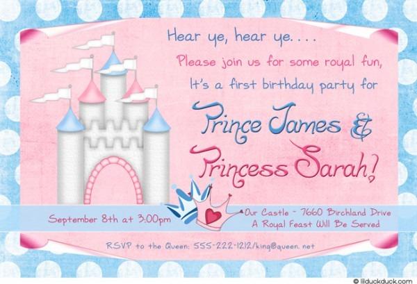 Convite De Festa Festa Infantil Menina