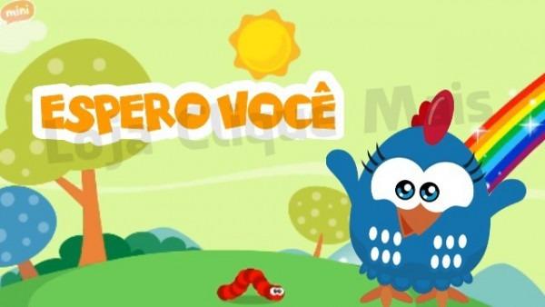 Convite Digital Animado Galinha Pintadinha Mini