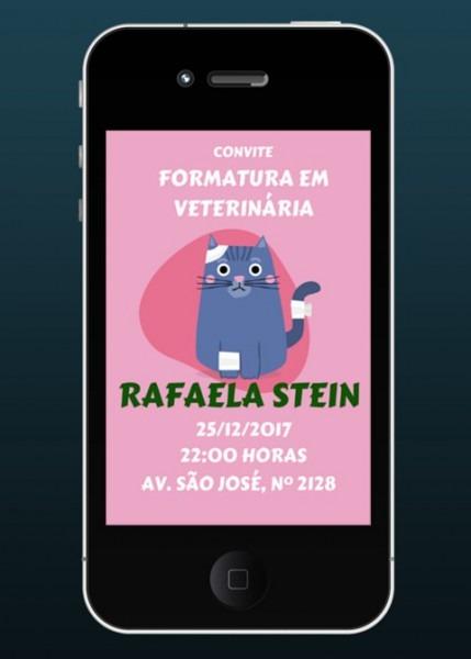 Convite Digital Para Envio Via Whatsapp