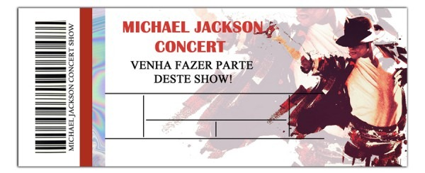 Convite Digital Tema Michael Jackson No Elo7