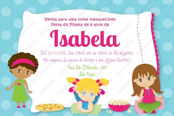 Festa Do Pijama → Convites, Jogos E Brincadeiras, Decoração E Mais!