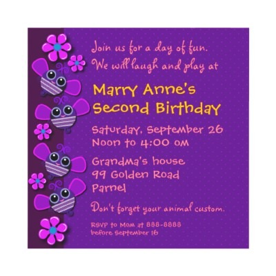 Convite Festa Infantil De Meninas