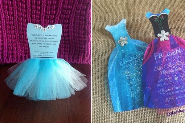 Convite Frozen  16 Modelos Para Uma Festa De Princesa!   ᐅ Mil