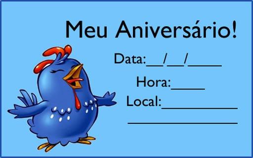 Convite Galinha Pintadinha  Modelos Para Imprimir!