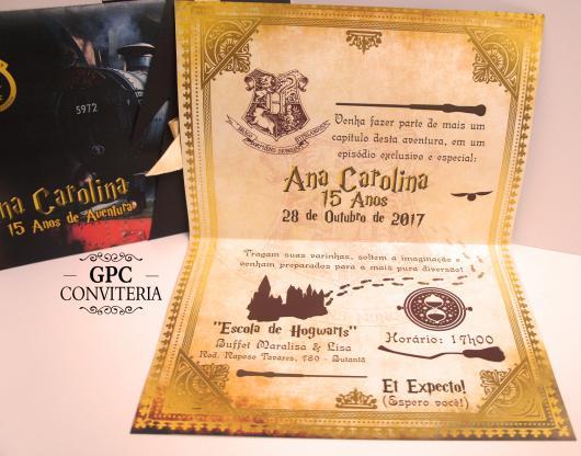 Convite Harry Potter  Mais De 20 Modelos E Dicas De Como Fazer