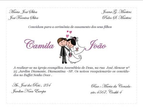 Convite Individual De Casamento  Como Fazer