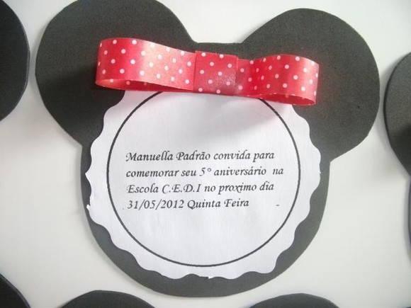 Convite Infantil De Eva
