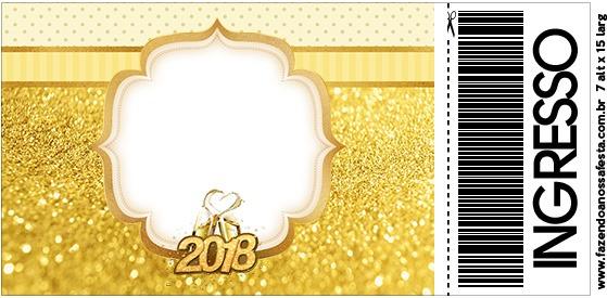 Convite Ingresso Ano Novo 2018