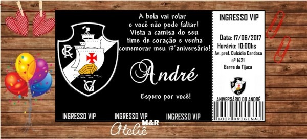 Convite Vasco