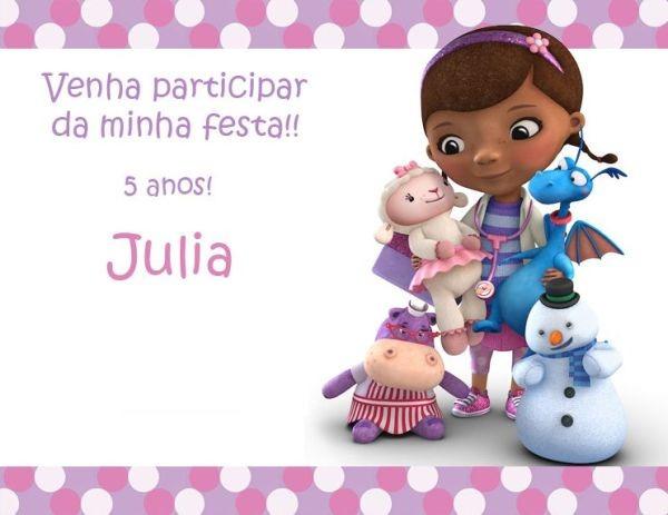 Festa Da Doutora Brinquedos!   ᐅ Mil Dicas De Mãe
