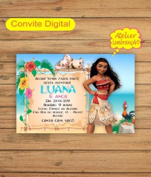 Convite Moana Mod1