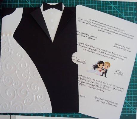 Convite Noivos Casamento Arquivo Corte Digital Silhouette