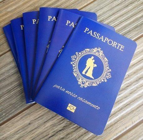 Convite Passaporte 100 Unidadades Promoção