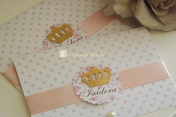 Convite Personalizado Princesa