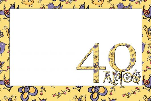 Festa De 40 Anos Feminina  Fotos, Ideias E Dicas!