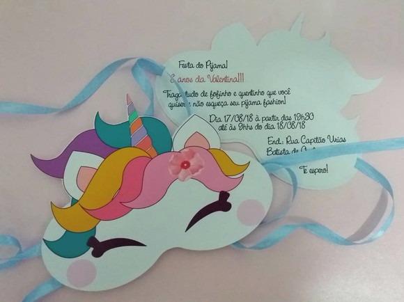 Convite Unicorn