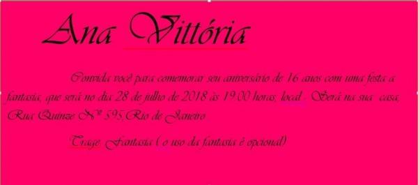 Convite Virtual 15 Anos, Para Aniversário Infantil, Bodas,