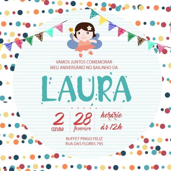 Convite Virtual Anivers√°rio 2 » Happy Birthday World