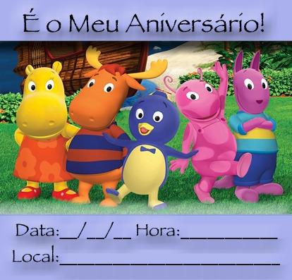 Convite Dos Backyardigans Para Imprimir « Aniversário De Criança