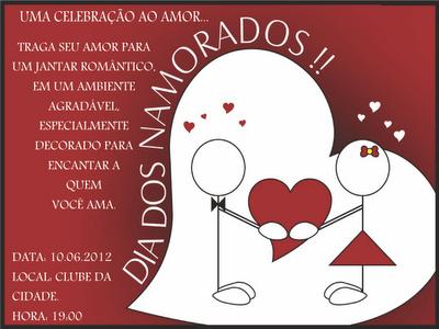 Blog Do Ricardo Pereira  Igreja Fará Jantar Romântico No Dia Dos