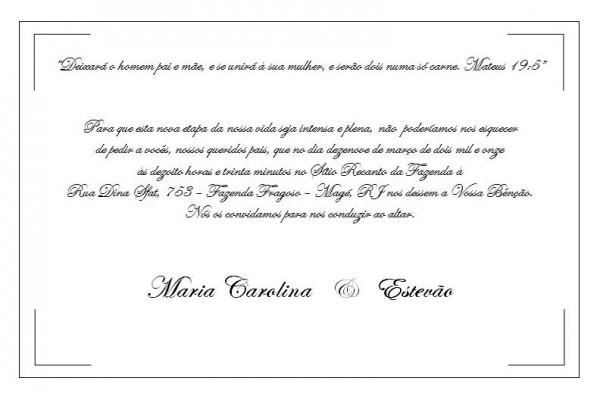 Frases Para Convite De Casamento   Qual Será A Sua !