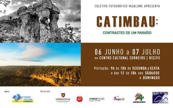 Convite – Exposição Fotográfica Catimbau  Contrastes De Um Paraíso