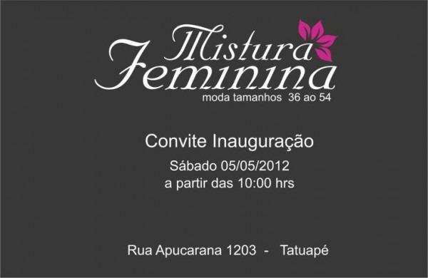 Alinne Rosa  Inauguração Mistura Feminina No Tatuapé