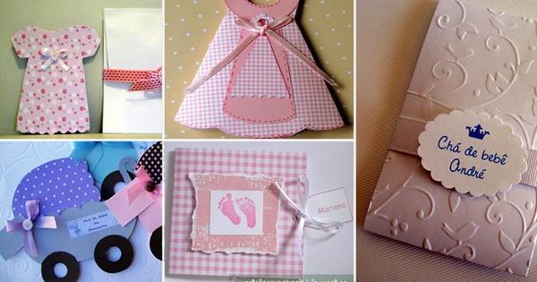 17 Melhores Convites Para Chá De Bebê