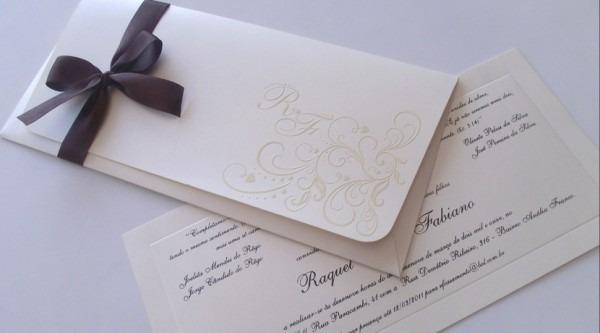 Fantásticos Modelos De Convites De Casamento, Fotos