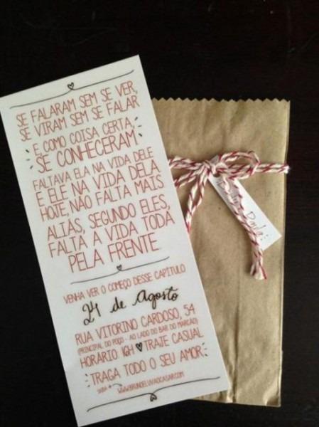 59 Convites De Noivado Apaixonantes – Ideias Criativas E Modelos