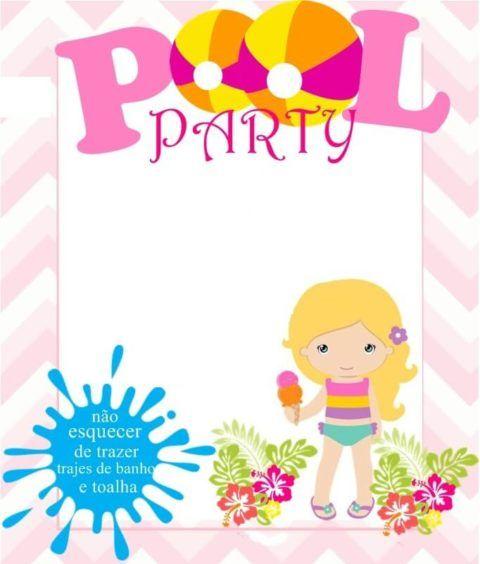 Pool Party Infantil, Festa Infantil Na Piscina